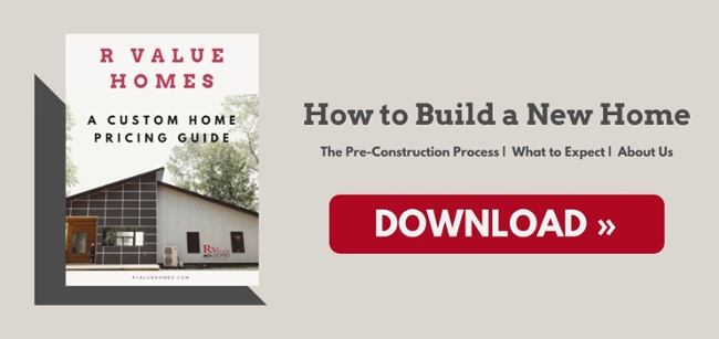 R Value Homes Custom Home Pricing Guide Free Download Grand Rapids MI