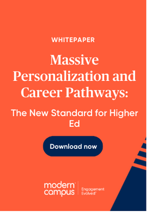 Massive Personalization and Career Pathways: