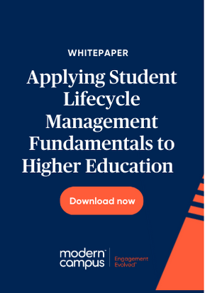 Download Applying Student Lifecycle Management Fundamentals to Higher Education now!