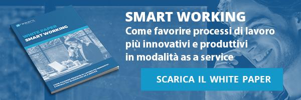 Present - White Paper - Smart Working: come favorire processi di lavoro più innovativi e produttivi in modalità as a service