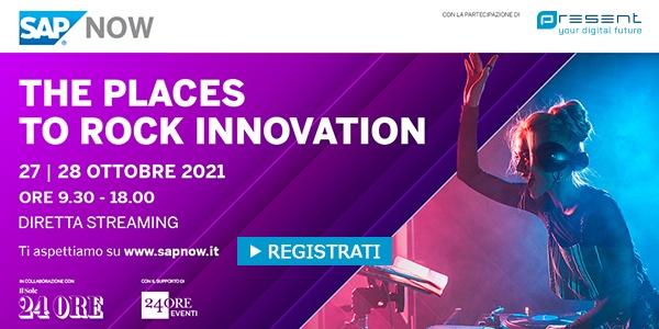 "CLICCA QUI per iscriverti all'evento: ""The places to rock innovation"""