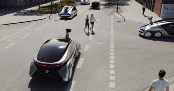 Die Mobilität der Zukunft – benutzen statt besitzen. Der EDAG CityBot zeigt wie es geht.