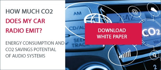 White paper CO2 emissions car radio
