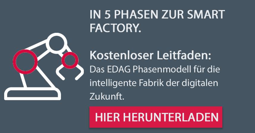Kostenloser Leitfaden: In 5 Phasen zur Smart Factory