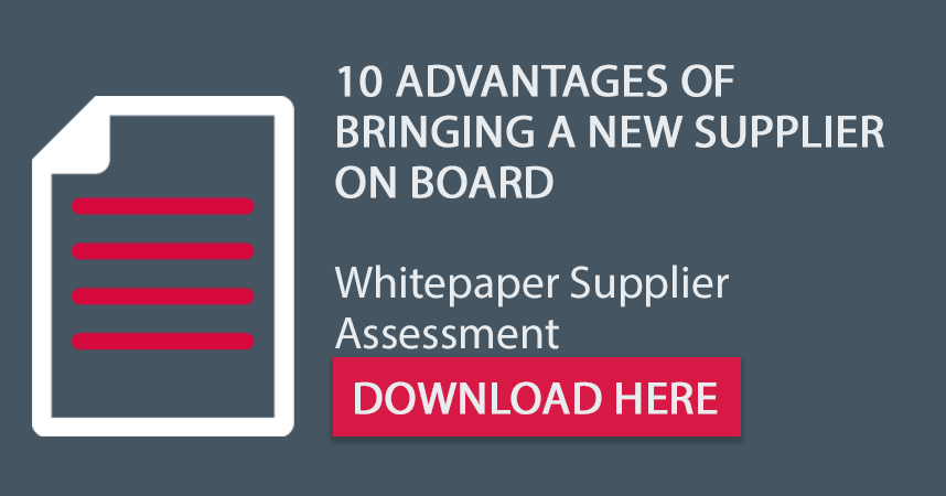 "Free white paper for system suppliers: ""10 advantages – why you should bring a new supplier on board"""