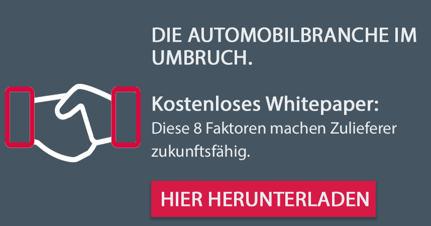 Kostenloses Whitepaper: Die Automobilbranche im Umbruch