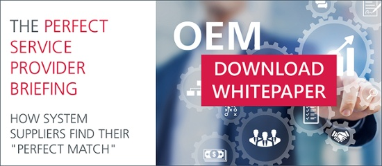Free white paper for system suppliers: Speed dating for system suppliers: How to quickly create the perfect service provider brief for a successful OEM project