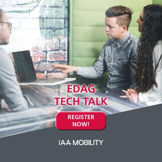 Registration Tech Talks IAA Mobility