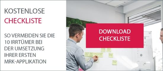 Kostenlose Checkliste: Zehn Irrtümer bei der Umsetzung der ersten MRK-Applikation