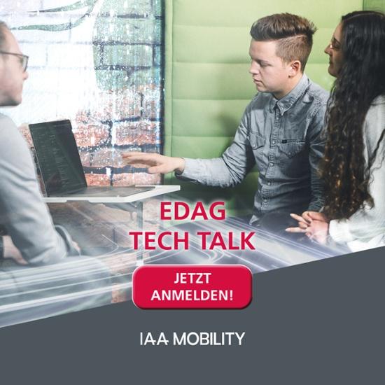 Anmeldung Tech Talks IAA Mobility