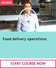 Start course - Food delivery operations