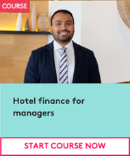 Hotel finance for managers course