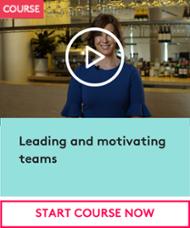 Leading and motivating teams CTA