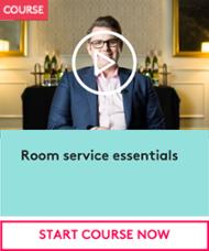 Room service essentials CTA