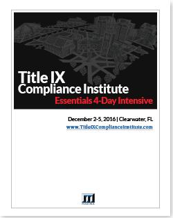 Title IX Compliance Institute Guide