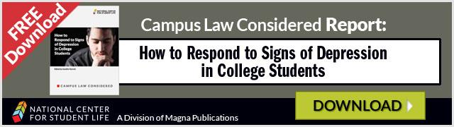 Free Report: How to Respond to Signs of Depression in College Students