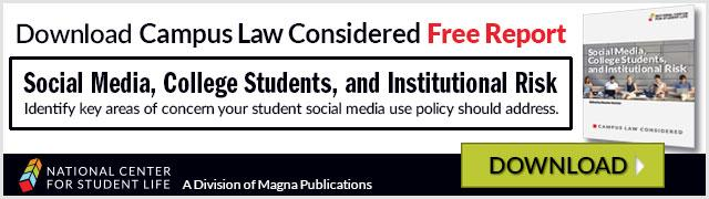 Free Report: Social Media, College Students, and Institutional Risk