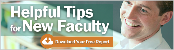 Helping New Faculty Thrive - Free Report