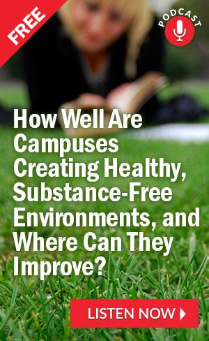 Are Campuses Saying Quot No Quot To Drugs