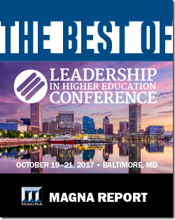 Best of the 2017 Leadership in Higher Education Conference