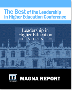 Best of the 2016 Leadership in Higher Education Conference