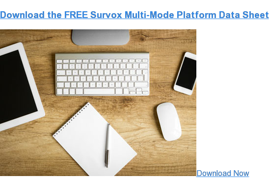 Download the FREE Survox Multi-Mode Platform  Data Sheet Download Now