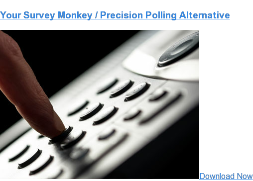 Looking for a replacement for your Survey Monkey / Precision Polling IVR? We have your back.  Contact us.