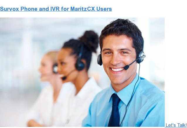 Survox Phone and IVR for Qualtrics Users Let's Talk!