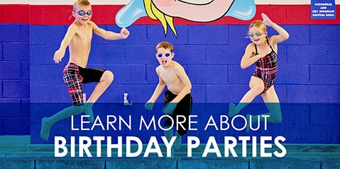 Learn More About SafeSplash Birthday Parties!