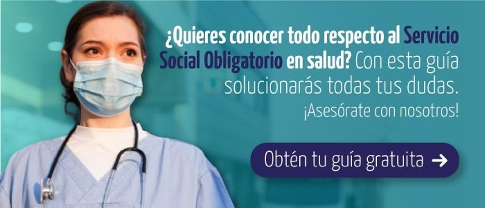Sobre servicio social obligatorio en salud