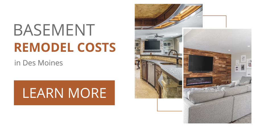 Basement Remodel Cost Guide Des Moines | Compelling Homes