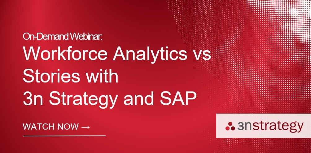 SuccessFactors Workforce Analytics vs Stories On Demand Webinar