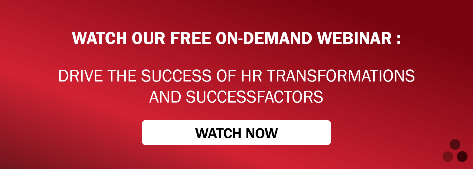 WATCH OUR FREE ON DEMAND WEBINAR NOW