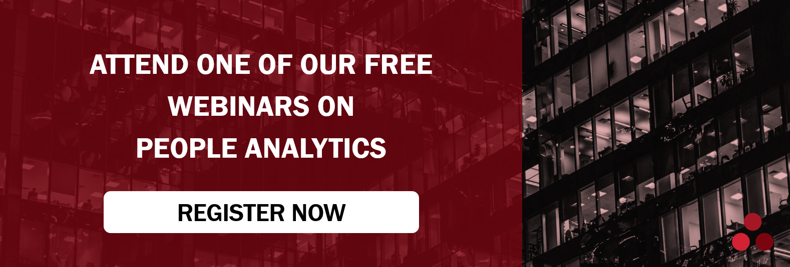 Attend our free people analytics webinars