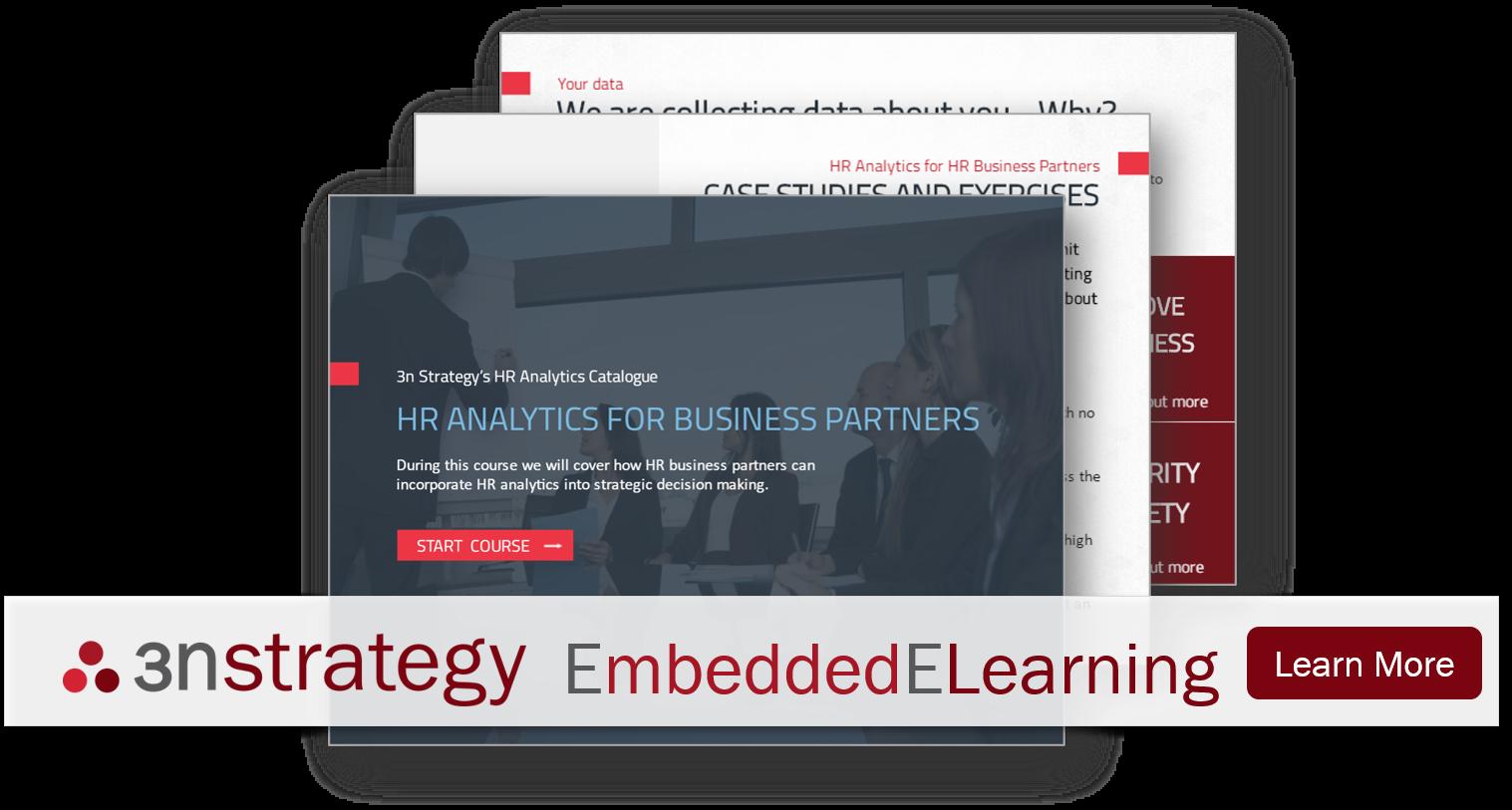 Embedded Elearning HR Analytics Training