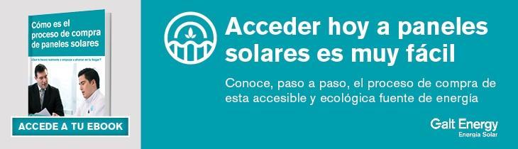 Proceso de compra de paneles solares