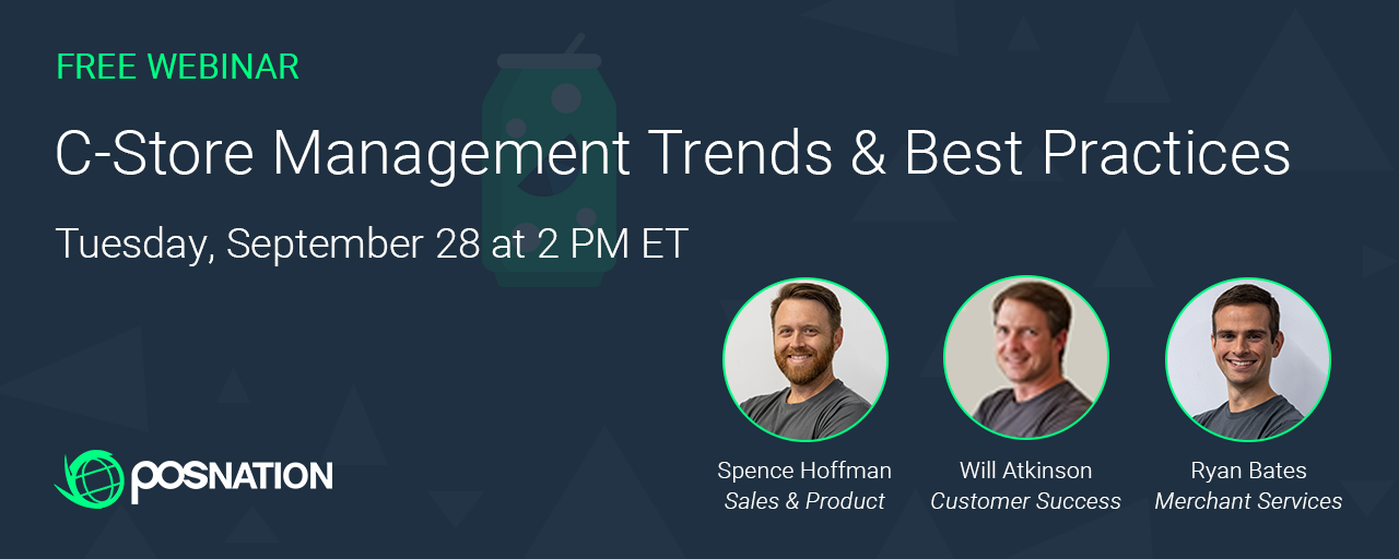 Are you a c-store owner or manager? Register for our webinar to get management trends and best practices!