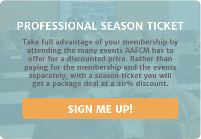 Marketers & Advertisers: Get Your Season Ticket to all AAF Events