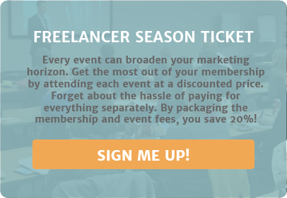 Freelancers: Get Your Season Ticket to all AAF Events
