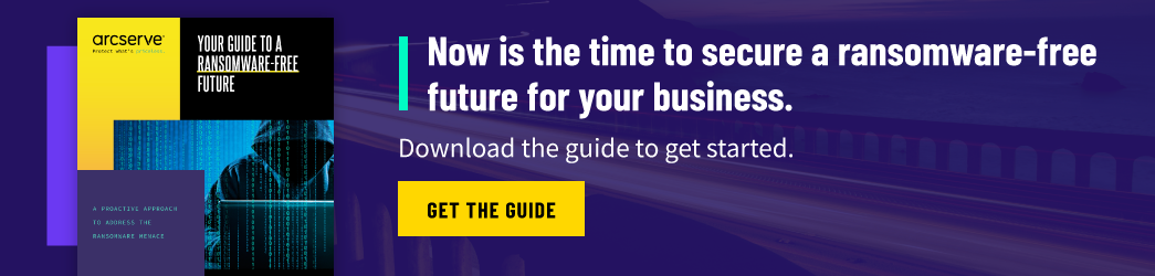 Download Your Guide to a Ransomware-Free Future
