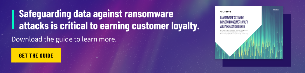 Download the Guide: Ransomware's Stunning Impact on Consumer Loyalty and Purchasing Behavior