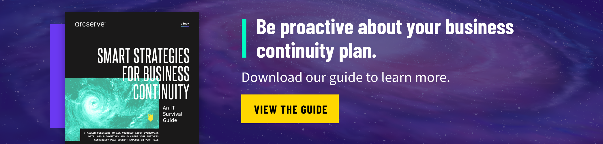 [Free eBook] Smart Strategies for Business Continuity: An IT Survival Guide. Download our free eBook to learn more >>