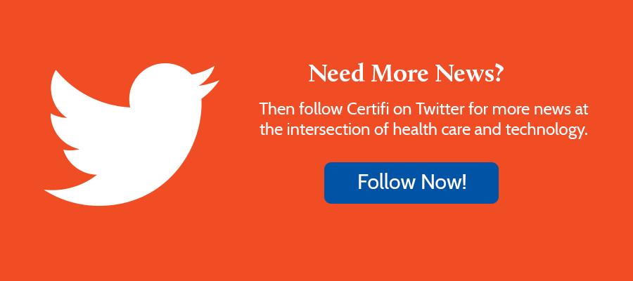 Follow Certifi on Twitter