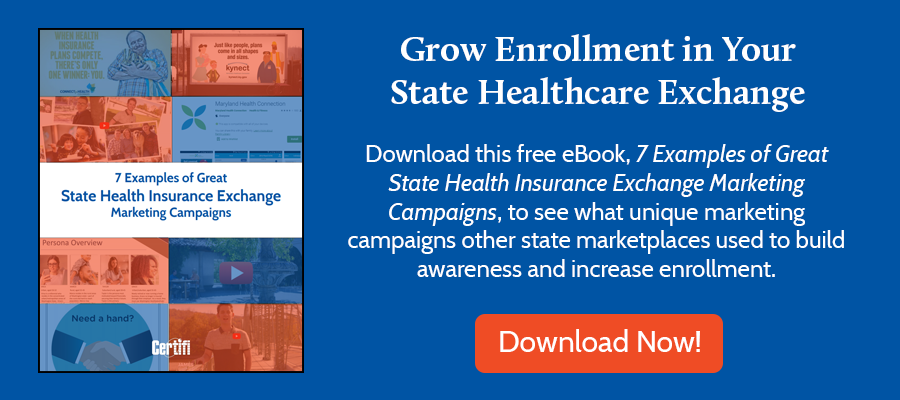 Free eBook - 7 Examples of Great State Health Insurance Exchange Marketing Campaigns