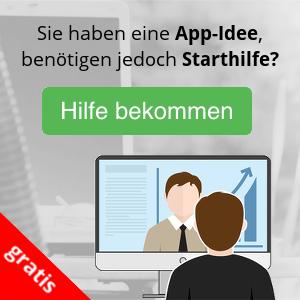 Sie haben eine App-Idee, benötigen jedoch Starthilfe? Jetzt gratis Hilfe bekommen