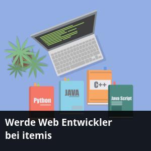 Stellenanzeige: Werde Web Entwickler bei itemis