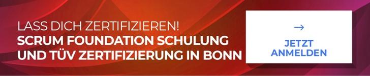 Scrum-TÜV-Schulung-Zertifizierung-Bonn