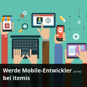 Stellenanzeige: Werde Mobile Entwickler bei itemis