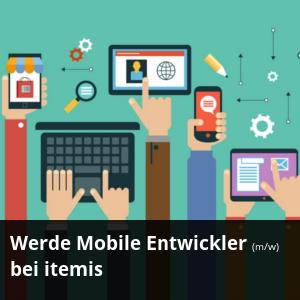 Stellenanzeige: Werde Mobile Entwickler (m/w) bei itemis