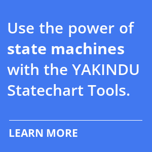 Use the power of state machines with the YAKINDU Statechart Tolos. Learn more.